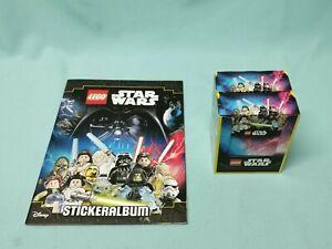 Blue Ocean  Lego Star Wars Sticker Serie Sammelalbum + 2 x Display /  72 Tüten