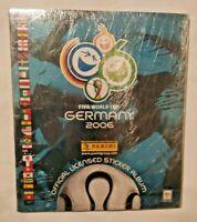ALBUM FIFA WORLD CUP GERMANY 2006 + SET COMPLETO FIGURINE EX SIGILLATO PANINI