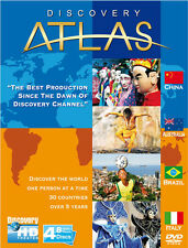 Discovery Atlas: Season 1 (2006) Brazil, Australia, China, Italy  DVD PAL COLOR