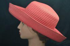 Panama Jack Big Brim Straw Sun Beach Women Cap Hat
