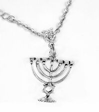 Menorah Necklace star of Judeah Jewish Hebrew passover Best jewelry  gift