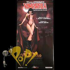 Women of Dynamite VAMPIRELLA Statue J Scott CAMPBELL Color Edition Ltd to 1969!