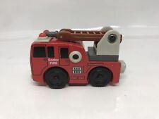 SODOR FIRE CREW HOOK &LADDER Thomas the Train Wooden Railway Thomas & Friends