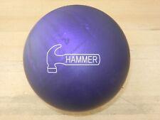"NIB 14# Hammer Purple Urethane Bowling Ball - 14.0/3-4"" Pin/2.90oz TW"
