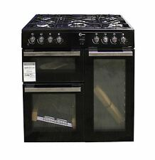 FLAVEL MLN9FRK 90 cm Dual Fuel Range Cooker Black #2198