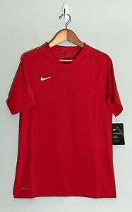 NWT Youth Unisex Nike Vaporknit Soccer/ Football Jersey University Red Top XL