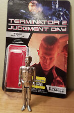Terminator 2 T-1000 Final Battle Metal Form Figure Funko ReAction OPEN LOOSE NEW