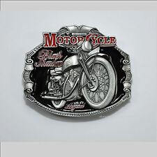 Classic Vincent Motorcycle Motorrad Gürtelschnalle Buckle Black Shadow *069