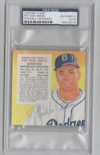 ~PEE WEE REESE (dec) Signed 1955 RED MAN #17 Brooklyn TERRIFIC CONDIT. PSA/DNA~