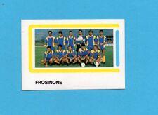 CALCIO 1988-EUROFLASH-Figurina n.438-SQUADRA/TEAM-FROSINONE-NEW