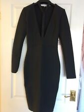 Becky's Boutique 'Touch Above The Rest ' Black Bandage Dress Sz Small