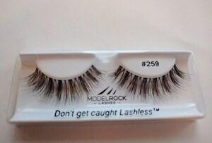 ModelRock Best Beauty Natural False Eyelashes Duo Kit Online #259 + Free 1g Glue