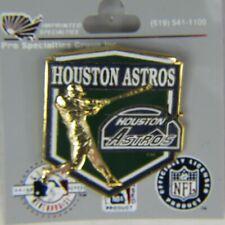 MLB Team Houston Astros Pin Logo Hat Tie Tack NIB