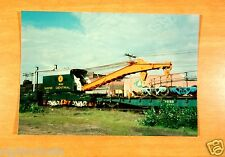 Maine Central Railroad W180 Wrecker Portland Terminal August 12, 1982 Photograph