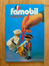 PLAYMOBIL 1980 CATALOGO FAMOBIL COLOR KATALOG CATALOGUE LEAFLET