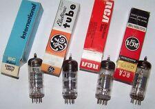 4 Mullard/RCA/GE NOS/used 12BA7A/12BY7/12DQ7 Radio/Amp Vacuum Tubes in Box