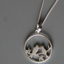 Sterling silver Bird Pendant Necklace by Lepos Jewellery
