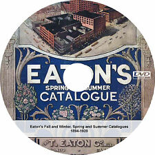 Eaton's Department Store Fall / Winter/ Spring/ Summer - Vintage Catalogs on DVD