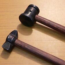 Set of 2 Heavy Iron Hammers Blacksmith Useful Item