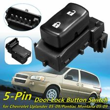 Power Door Lock Button Control Switch For Chevrolet  Uplander Pontiac Montana