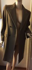 NEW Women's GERARD DAREL Manteau Olive Coat   Size 8 USA or Size 40 European