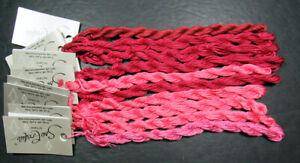10x Needlepoint/Embroidery THREAD CARON Soie Cristale 12 ply silk floss-XW153