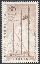 Germany (B) 1956 Radio Masts/Industrial Fair/Industry/Communications 1v (n41175)