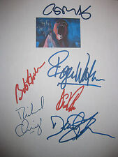Pink Floyd The Wall Signed Movie Script X6 Roger Waters Gilmour Wright reprint