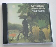 NEW Louis Moreau Gottschalk: Piano Music Philip Martin UK CD