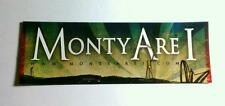 MONTY ARE I  .COM WALL OF PEOPLE STOLEN TRANS GUITAR CASE PROMO SMALL STICKER