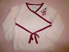 NWT Gymboree Vintage Flower Blossom Asian Pink Pull-over Sweater Top Girl sz 3