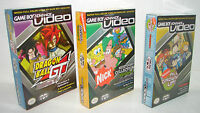 lot of 3 NEW GameBoy Advance Videos DRAGONBALL , Nicktoons & MORE!!