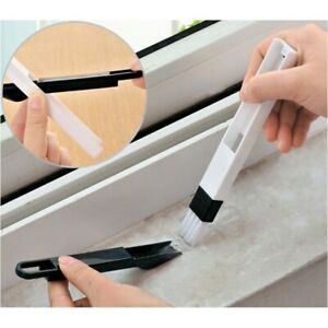 Mini Cleaning Brush & Dustpan Keyboard Car Vent Cleaner Tool Window Sliding Door