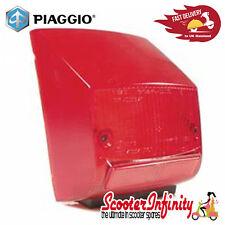 Rear Light Lens PIAGGIO (Rear, Red) (Vespa PX80-200/PE/Lusso/`98)