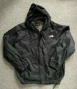 Mens The North Face Hyvent Waterproof Jacket Coat Black Chest 50 XL/XXL 62