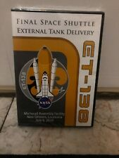 NASA'S FINAL SPACE SHUTTLE EXTERNAL TANK DELIVERY, ET-138 JULY 8, 2010-DVD, NEW