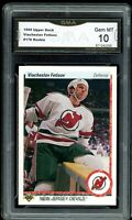1990 Upper Deck #176 Viacheslav Fetisov RC Rookie Graded GMA 10 GEM ~ PSA 10?
