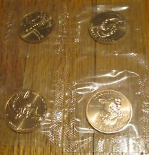 2007 First Spouse 4 Bronze Medal Martha Washington Abigail Dolley U.S. Mint