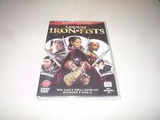 THE MAN WITH THE IRON FISTS : (DVD,2013)