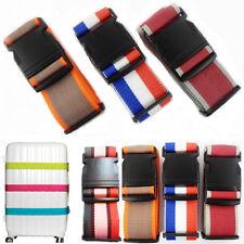 Maleta de equipaje de seguridad correas con hebilla ajustable cinturón de viaje bolsa nombre identificar