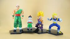 "lot of 4 DragonBall Z DBZ ss vegeta Tien Shinhan Chiaotzu PVC  FIGURE 4""-5"""