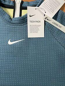 Nike Sportswear Tech Fleece Women's Long-Sleeve Top Small CZ1859-058 010