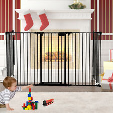 Fireplace Fence Pet Dog Cat Steel Fire Gate Baby Safety Fence Hearth Gate