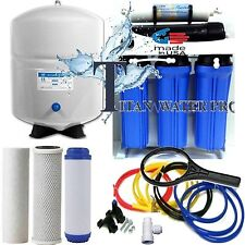 5 Stage Reverse Osmosis Drinking Water Filter System 150 GPD LP - 6 Gallon Tank