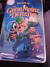 The Great mouse Detective RARE ORIGINAL VERSION 21422 THE BLACK DIAMOND EDITION!