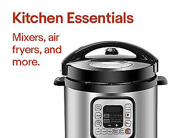 Kitchen Essentials | Mixers, airfryers, and more.
