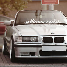 BMW bimmer4life window windshield banner vinyl sticker stance drift decal