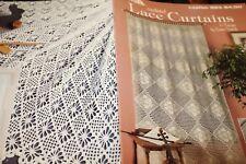 Leisure Arts Crochet Pattern 923 Lace Curtains 6 designs