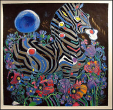 """Tie Feng Jiang""""A Spring Rhyme""""serigraph on canvas  HAND SIGNED Make an Offer"""