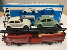Marklin 4613 Automobile Transporter w/ 4 Cars. Rare! Nib